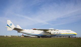 Antonov An-225 at RAF Brize Norton