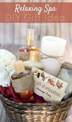 Basket Gifts : DIY Spa Gift Basket (giftsmaps.com) Tags: gifts