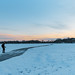 Ski Path on Lake of the Isles - Winter Activities in Minneapolis