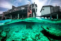 Two Worlds - Maldives - Travel photography