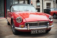 MG (Rich Presswood) Tags: fujixpro2 7artisans 35mmf12 lightroom provia400x car vintage f12 50mm mg motorcar chesterfield
