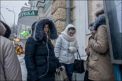 0A77m2_DSC0924 (dmitryzhkov) Tags: urban city everyday public place outdoor life human social stranger documentary photojournalism candid street dmitryryzhkov moscow russia streetphotography people man mankind humanity color colour snow snowfall blizzard badweather