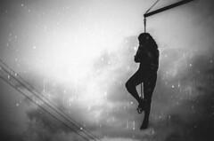 hanging on a rope (matthias hämmerly) Tags: candid street streetphotography shadow contrast grain ricoh gr black white bw monochrom monochrome city town urban blackandwhite strasse people monochromphotography dark zürich zuerich light silhouette station main bahnhof linien wand einfarbig personen evening sky everybody streetphotoclub wädenswil waedenswil lake man hangin rope end switzerland rain gloomy streetstyle clouds