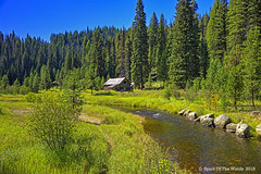 The Old Stamp Mill (jimgspokane) Tags: crookedriver idaho rivers forests camping trees today´sbest