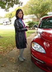 Sep. grey (Foxywalk) Tags: grey boots asian chinese black heel thighhigh overtheknee leather lady portrait 人像 過膝長靴 靴 高跟靴 皮靴 灰色