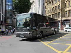Atlantic Travel YJ06LCZ 29072018 (Rossendalian2013) Tags: atlantictravelbolton bus coach manchester railreplacement northern arrivarailnorth daf sb4000 vanhool alizee yj06lcz staintoncoacheskendal soluscoachestamworth pdyorktravelwolverhampton