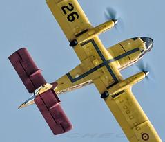 Canadair CL-215 (joseramongonzalez544(Checha)) Tags: canadair nikon 500mm helice d810 checha scq militar exhibición ejercito español aire air to