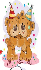 Set of vector clip art illustrations of brown teddy bear wishes you a happy birthday. (inola1405) Tags: bear teddy vector animal teddybear plush toy illustration happybirthday soft happy birthday cute isolated stuffed brown love box gift present bearcartoon doll fun congratulation greeting card object fluffy invitation cartoon party clip art bubble holiday surprise flower icon tiny furry hug book sign comic emblem cheerful speech label element embrace