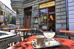my morning breakfast (bob_52) Tags: krakow polonia città kazimierz caffè cappuccino bar