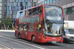 AL 2500 @ West Croydon bus station (ianjpoole) Tags: abellio london alexander dennis enviro 400mmc yy64tyz 2500 working route 109 taberner house croydon brixton station