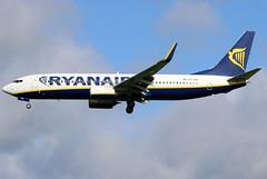 EI-EVA (GH@BHD) Tags: eieva boeing 737 738 b737 b738 737800 fr ryr ryanair airliner aircraft aviation bfs egaa aldergrove belfastinternationalairport
