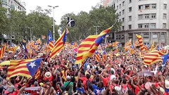 VIDEO Fem la República Catalana. 2018 Barcelona . 171457 (antarc foto) Tags: video one million people rally claiming for catalan independence freedom political prisoners september 11th 2018 diada de catalunya national dayavda diagonal barcelona femlarepúblicacatalana
