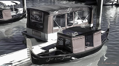 Boats for hire (Aussie~mobs) Tags: gondola boat hire goldcoast queensland australia craft water