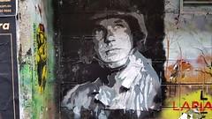 ... (colourourcity) Tags: streetartaustralia streetart streetartnow graffitimelbourne graffiti streetartmelbourne melbourne burncity awesome colourourcity colourourcitymelburn colourorucitymelbourne stencils stencilart acdc acdclane soldier