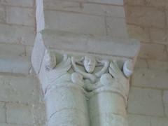 Abbaye royale Saint-Vincent (XIe-XIXe), Nieul-sur-l'Autise (85) (Yvette G.) Tags: chapiteau nieulsurlautise vendée 85 paysdelaloire architecture artroman église abbaye