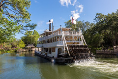 Liberty Belle - Steam Ship (myfrozenlife) Tags: orlando vacation disneyworld waltdisneyworld travel canon magickingdom america trip unitedstates usa canon5d holiday florida us