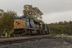 Mac on the Run (travisnewman100) Tags: csx sd70mac train railroad locomotive freight manifest emd ge es44ah ac44cw yn3 emerson georgia atlanta division wa subdivision q542