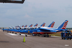 170404_038_SnF_PatrouilleDeFrance (AgentADQ) Tags: patrouille de france aerobatic display team alphajet alpha jet french air force armee lair airplane trainer plane military aviation sun n fun flyin expo airshow show lakeland linder airport florida 2017