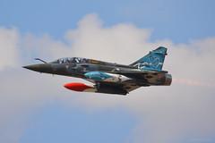 624 French Mirage 2000D EGVA 14/7/18 (David K- IOM Pics) Tags: egva ffd raf fairford riat riat18 riat2018 2018 airshow air tattoo royal international display 649 624 france french force larmee dair dassault morage 2000 2000d couteau delta