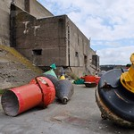 Ecluse bétonnée de la base sous marine allemande de La Pallice, La Rochelle thumbnail