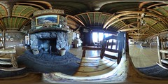 Fish Lake Lodge fireplace (rovingmagpie) Tags: utah fishlake lodge fishlakelodge fireplace panorama pano360 wood 360 summer2018