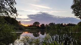 Evening mood at Gadstrup moor