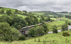 Verdant Whistling (4486Merlin) Tags: andania class40 d213 diesellocos england europe heritagerailways northwest northyorkshire railways settlecarlislesc transport unitedkingdom littlestainforth gbr saphostrains lsl cumbrianmountainwhistle