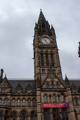 Manchester Town Hall (Mike McNiven) Tags: manchester town hall clock tower heritage