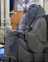 Cardinal Gasquet, by Edward Carter Preston (jacquemart) Tags: abbey gothic ndownsideabbeysomerset monument ogothic romancatholic cardinalgasquet edwardcarterpreston tomb gilbertscott