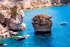 Grain de sable (julienmeffre) Tags: corse bonifacio rocher stone landscape sea water island nature
