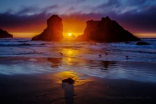 Bandon Oregon Sunset