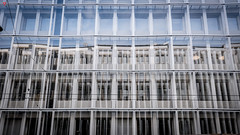 Distorted Symmetry (BeyondThePrism) Tags: distorted windows mirrors reflection blue crooked balanced straight frame frames framed abstract architecture architect beyondtheprism beyond wwwbeyondtheprismcom castonguay castonguayjeanphilippe jpcastonguay jpc