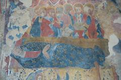 Cattolica di Stilo - Dormitio Virginis (Alberto Cameroni) Tags: calabria stilo bivongi cattolicadistilo affresco dormitiovirginis fotografarelarte leica leicaxtyp113