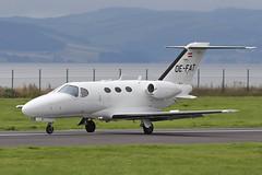 Cessna 510 Citation Mustang OE-FAT Globe Air (Mark McEwan) Tags: cessna c510 cessna510 citationmustang oefat globeair bizjet aviation aircraft airplane dundee dundeeairport dnd