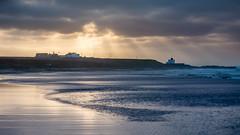 Bamburgh Beach (Matthew_Hartley) Tags: bamburgh beach northumberland uk britain coast sea seaside sky light rays microfourthirds m43 panasonic lumix gx7 vario 45200 45200mm