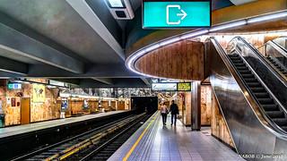 Brussels, Belgium: Aumale metro station (Line 5)
