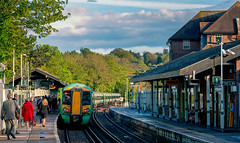 Evening Arrival at Oxted, England Train Station (Thanks for 2 million views) Tags: oxted england station train