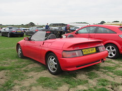 Lotus Elan SE H528HPF (Andrew 2.8i) Tags: haynes motor museum breakfast meet sparkford yeovil somerset show classic classics cars car autos british sports sportscar open cabriolet convertible roadster m100 elan lotus