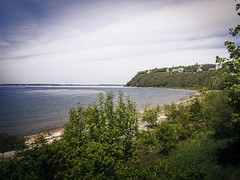 Lake Huron (RandallMcRoberts) Tags: artphotography beach environment fineartphotography foliage greatlakes hillsvalleys island lake land landscape ridge scenery