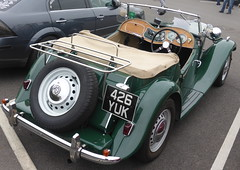 MG TD (1953) (andreboeni) Tags: classic car automobile cars automobiles voitures autos automobili classique voiture rétro retro auto oldtimer klassik classica classico 1953 mg td sports roadster