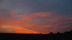 Dawn 09/09/2018 (ALEKSANDR RYBAK) Tags: рассвет утро рано небо облака природа деревья пейзаж осень погода сезон солнечный свет лучи dawn morning early sky clouds nature trees landscape autumn weather season solar shine beams