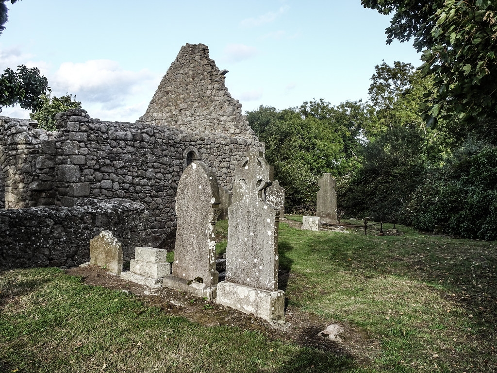 TODAY I VISITED TULLY CHURCH [NEAR THE LUAS TRAM STOP AT LAUGHANSTOWN ON THE GREEN LINE]