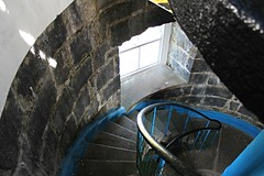 On the way down the stairs (debstromquist) Tags: loopheadlighthouse lighthouses countyclare kilbaha ireland spring wildatlanticway stairs windows
