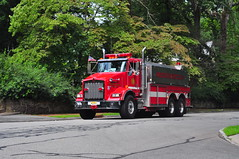 Mendham Township Fire Department Ralston Engine Company No. 1 Tanker 12 (Triborough) Tags: nj newjersey morriscounty boonton mtfd mendhamtownshipfiredepartment firetruck fireengine tanker tanker12 kenworth t800b pierce