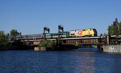 VIA 33 (Michael Berry Railfan) Tags: via903 via33 lachinecanal peelbasin montreal sthyacinthesub quebec train passengertrain ge generalelectric genesisseries p42dc viarail