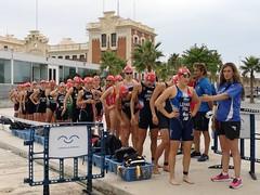 Copa de #Europa de #Triatlón Ana Mariblanca team clavería #ETUValencia élite femenina 1