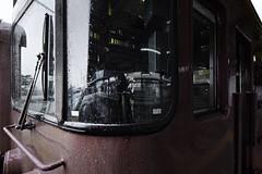 sdqH_180914_B (clavius_tma-1) Tags: sd quattro h sdqh sigma 1224mm f4 dg hsm art 羽咋 hakui 石川 ishikawa jr jr西日本 七尾線 駅 station platform 停車 豪雨 heavy rain 運行見合わせ 列車 train モハ414807 窓 window 運転席
