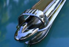Chevy Fleetmaster Mascot (arbyreed) Tags: arbyreed mascot hoodornament carmascot vintagecarmascot chevy chevrolet vintagecar classiccar green metal chrome kanab utah fleetmaster