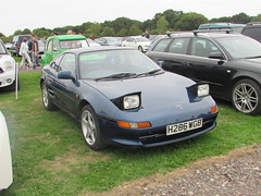 Toyota MR2 GT H286WGB (Andrew 2.8i) Tags: haynes motor museum breakfast meet sparkford yeovil somerset show classic classics cars car autos rmr japanese sports sportscar coupe gt mr2 sw20 toyota