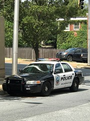 Wilmington PD, Delaware (10-42Adam) Tags: wilmington delaware police wpd ford crownvictoria crownvic policecar lawenforcement 911 cop cops officer officers wilmingtonpd wilmingtonpolice policedepartment cruiser blackandwhite patrol